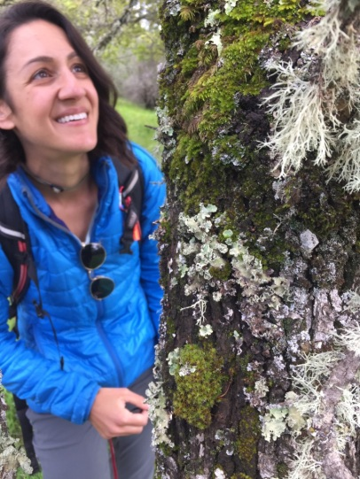 Lichens spreading happiness