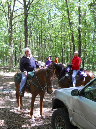 Friendly locals in Ozark National Forest