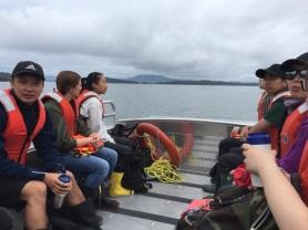 Island fieldwork with undergrads at Bamfield Marine Science Center, Vancouver Island, BC - 2019