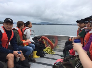 Island fieldwork with undergrads at Bamfield Marine Science Center, Vancouver Island, BC - 2019